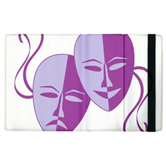 Comedy & Tragedy Of Chronic Pain Apple iPad 2 Flip Case