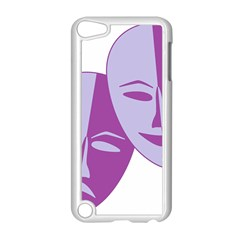 Comedy & Tragedy Of Chronic Pain Apple Ipod Touch 5 Case (white)