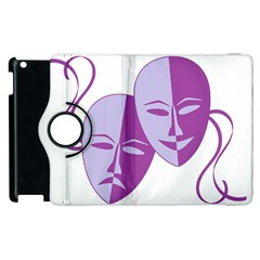Comedy & Tragedy Of Chronic Pain Apple Ipad 3/4 Flip 360 Case