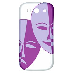 Comedy & Tragedy Of Chronic Pain Samsung Galaxy S3 S III Classic Hardshell Back Case