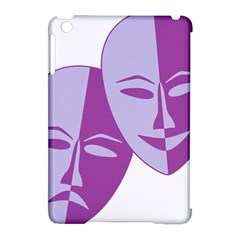 Comedy & Tragedy Of Chronic Pain Apple iPad Mini Hardshell Case (Compatible with Smart Cover)
