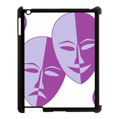 Comedy & Tragedy Of Chronic Pain Apple iPad 3/4 Case (Black)