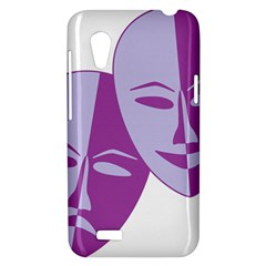Comedy & Tragedy Of Chronic Pain HTC Desire VT (T328T) Hardshell Case