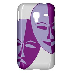 Comedy & Tragedy Of Chronic Pain Samsung Galaxy Ace Plus S7500 Hardshell Case