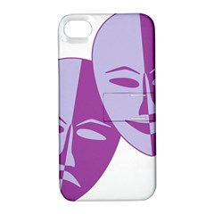 Comedy & Tragedy Of Chronic Pain Apple iPhone 4/4S Hardshell Case with Stand