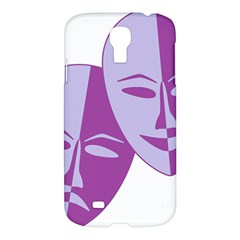 Comedy & Tragedy Of Chronic Pain Samsung Galaxy S4 I9500/i9505 Hardshell Case