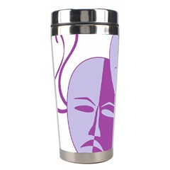 Comedy & Tragedy Of Chronic Pain Stainless Steel Travel Tumbler