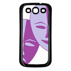 Comedy & Tragedy Of Chronic Pain Samsung Galaxy S3 Back Case (Black)