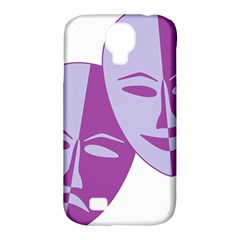 Comedy & Tragedy Of Chronic Pain Samsung Galaxy S4 Classic Hardshell Case (pc+silicone)