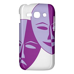 Comedy & Tragedy Of Chronic Pain Samsung Galaxy Ace 3 S7272 Hardshell Case