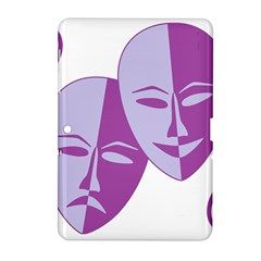 Comedy & Tragedy Of Chronic Pain Samsung Galaxy Tab 2 (10.1 ) P5100 Hardshell Case