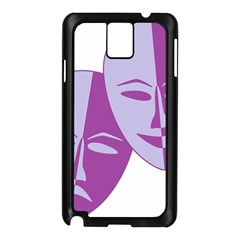 Comedy & Tragedy Of Chronic Pain Samsung Galaxy Note 3 N9005 Case (Black)