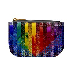 Conundrum I, Abstract Rainbow Woman Goddess  Coin Change Purse