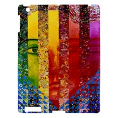 Conundrum I, Abstract Rainbow Woman Goddess  Apple iPad 3/4 Hardshell Case