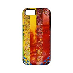Conundrum I, Abstract Rainbow Woman Goddess  Apple Iphone 5 Classic Hardshell Case (pc+silicone)