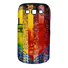 Conundrum I, Abstract Rainbow Woman Goddess  Samsung Galaxy S III Classic Hardshell Case (PC+Silicone)