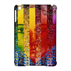 Conundrum I, Abstract Rainbow Woman Goddess  Apple iPad Mini Hardshell Case (Compatible with Smart Cover)