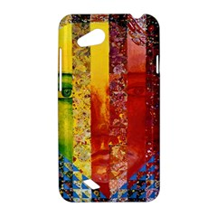 Conundrum I, Abstract Rainbow Woman Goddess  HTC Desire VC (T328D) Hardshell Case