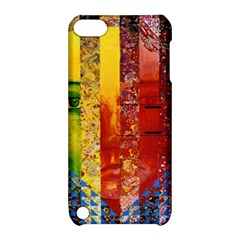 Conundrum I, Abstract Rainbow Woman Goddess  Apple iPod Touch 5 Hardshell Case with Stand