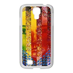 Conundrum I, Abstract Rainbow Woman Goddess  Samsung GALAXY S4 I9500/ I9505 Case (White)