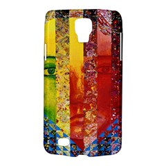 Conundrum I, Abstract Rainbow Woman Goddess  Samsung Galaxy S4 Active (I9295) Hardshell Case