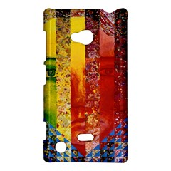 Conundrum I, Abstract Rainbow Woman Goddess  Nokia Lumia 720 Hardshell Case