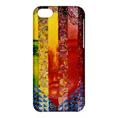Conundrum I, Abstract Rainbow Woman Goddess  Apple Iphone 5c Hardshell Case