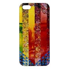 Conundrum I, Abstract Rainbow Woman Goddess  Iphone 5s Premium Hardshell Case