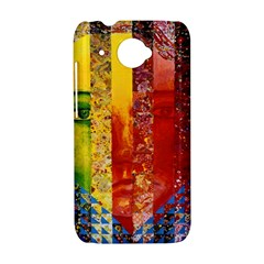 Conundrum I, Abstract Rainbow Woman Goddess  HTC Desire 601 Hardshell Case