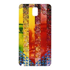 Conundrum I, Abstract Rainbow Woman Goddess  Samsung Galaxy Note 3 N9005 Hardshell Back Case