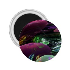 Creation Of The Rainbow Galaxy, Abstract 2.25  Button Magnet