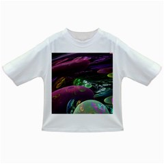 Creation Of The Rainbow Galaxy, Abstract Baby T-shirt