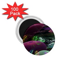 Creation Of The Rainbow Galaxy, Abstract 1 75  Button Magnet (100 Pack)