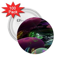 Creation Of The Rainbow Galaxy, Abstract 2 25  Button (100 Pack)