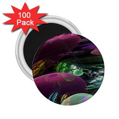 Creation Of The Rainbow Galaxy, Abstract 2.25  Button Magnet (100 pack)