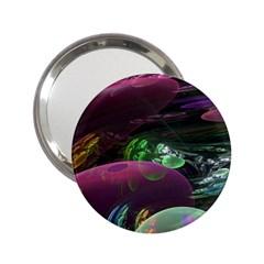 Creation Of The Rainbow Galaxy, Abstract Handbag Mirror (2.25 )