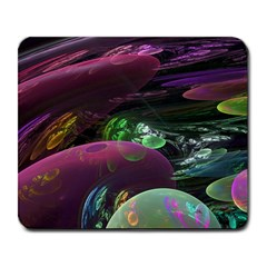 Creation Of The Rainbow Galaxy, Abstract Large Mouse Pad (Rectangle)