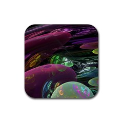 Creation Of The Rainbow Galaxy, Abstract Drink Coasters 4 Pack (Square)