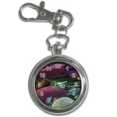 Creation Of The Rainbow Galaxy, Abstract Key Chain Watch