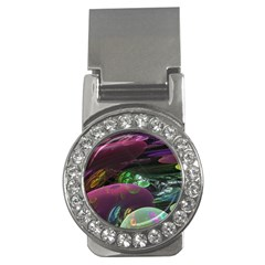 Creation Of The Rainbow Galaxy, Abstract Money Clip (CZ)