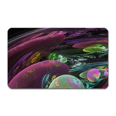 Creation Of The Rainbow Galaxy, Abstract Magnet (Rectangular)