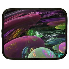 Creation Of The Rainbow Galaxy, Abstract Netbook Sleeve (large)