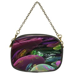 Creation Of The Rainbow Galaxy, Abstract Chain Purse (one Side)