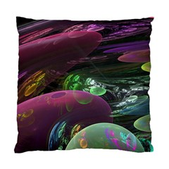 Creation Of The Rainbow Galaxy, Abstract Cushion Case (Two Sided)