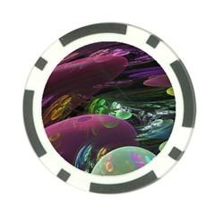 Creation Of The Rainbow Galaxy, Abstract Poker Chip (10 Pack)