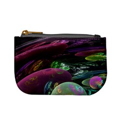 Creation Of The Rainbow Galaxy, Abstract Coin Change Purse