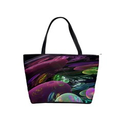 Creation Of The Rainbow Galaxy, Abstract Large Shoulder Bag