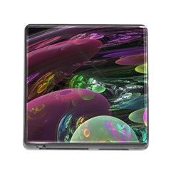 Creation Of The Rainbow Galaxy, Abstract Memory Card Reader With Storage (square)