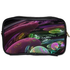 Creation Of The Rainbow Galaxy, Abstract Travel Toiletry Bag (Two Sides)