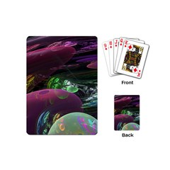 Creation Of The Rainbow Galaxy, Abstract Playing Cards (Mini)
